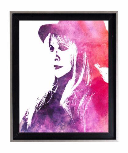Stevie Nicks Watercolor Gypsy Fleetwood Mac16 X 20 max Poster Matte Print