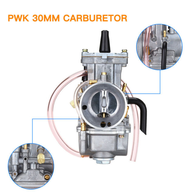 PWK 30mm Universal Racing Part Flat Side Carburetor For UTV Motorcycle Dirt Bike
