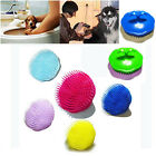 Pro Pet Dog Cat Hair Shampoo Scalp Body Massager Bath Cleaning Brush Comb Groom