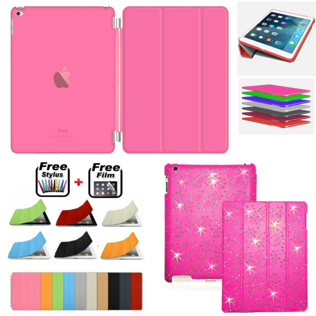 Slim Smart Magnetic Leather Case+ Back Case Cover For APPLE iPad Air/5, AIR 2/ 6