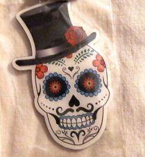 Dia de los Muertos Day Of The Dead Key Ring New Sugar Mu-stash Skull