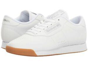 d2b79668b142a Image is loading Reebok-Classic-Princess-White-Gum-Fashion-Womens-Shoes-