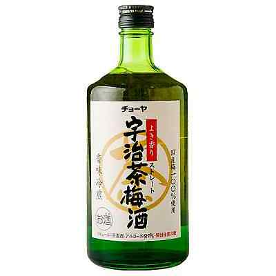 Choya Uji Green Tea Umeshu 720mL bottle Sake