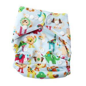 3X-Baby-Piaper-Cloth-Diaper-Over-Trousers-Pant-Adjustable-Training-Returnab-I2O9