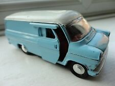 Dinky toy Ford Transit Van 407 light blue diecast vintage collectable