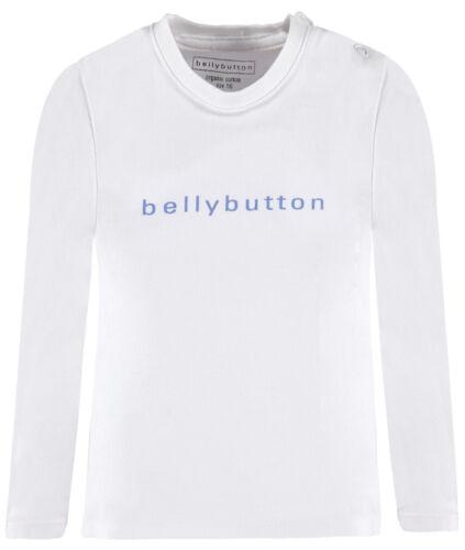 BELLYBUTTON ® bébé Chemise manches longues shirt blanc//bleu taille 62 68 74 80 86 NOUVEAU!