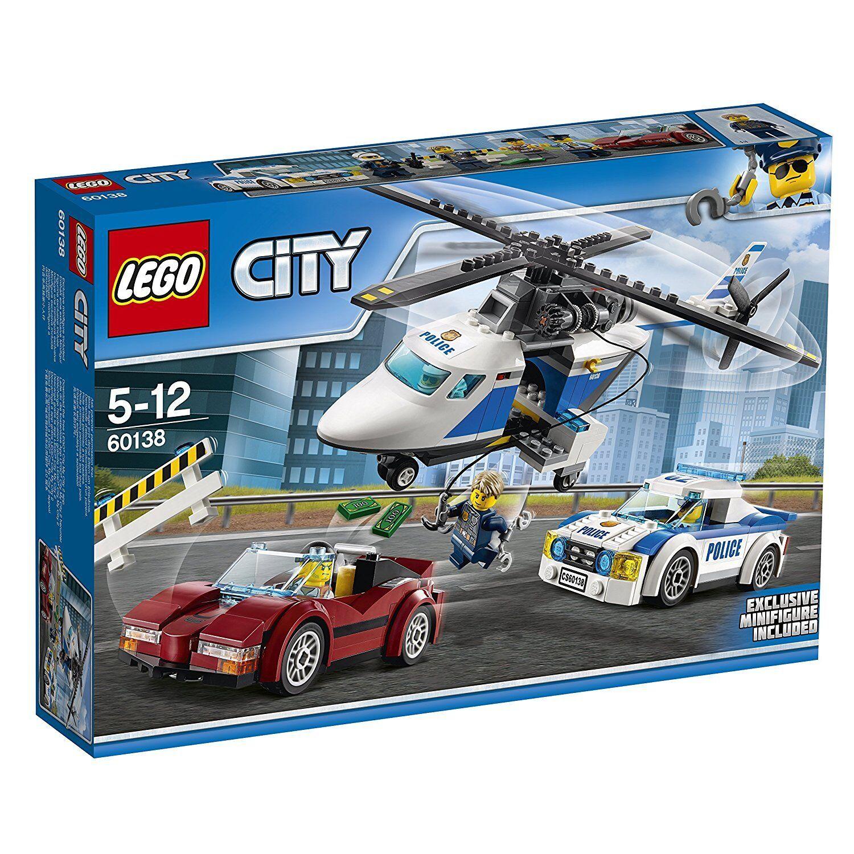 Lego City 60138 -Verfolgung durch die Autobahn. mit Figur exklusive. 5-12 Jahre