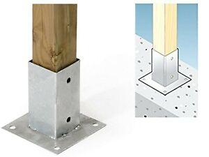 Fissaggio travi in legno su cemento