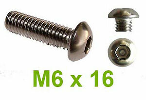 6 @ M4 X 8 STAINLESS STEEL A2 TORX TX PIN BUTTON HEAD SECURITY SCREW TX20 T20