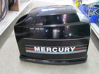 Mercury outboard hood off a 1992 oil injected 40 HP 2 stroke
