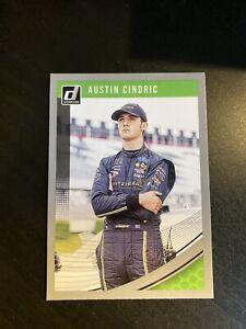2019 Donruss Racing Nascar Silver Parallel Card AUSTIN CINDRIC