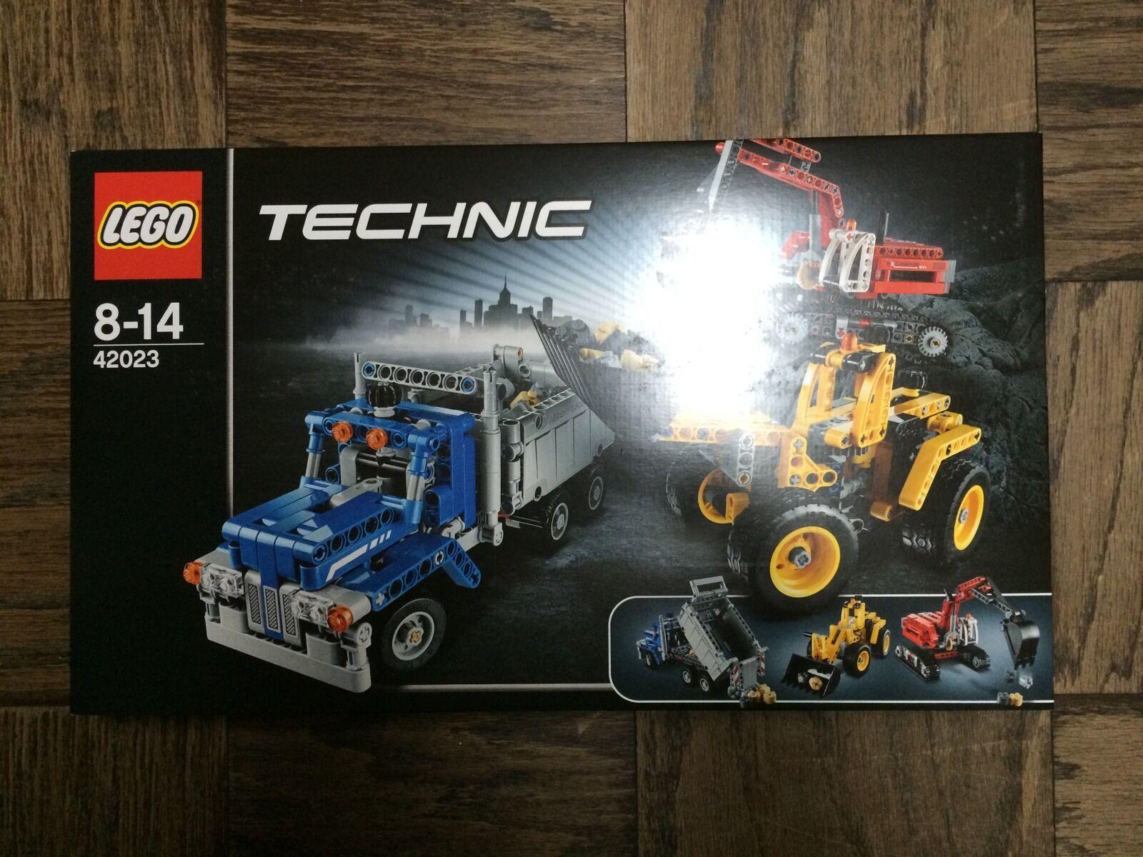 Nuevo LEGO TECHNIC Crew (42023) - Construction Menta en Caja Sellada