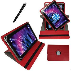 Huelle-fuer-Odys-NoteTab-PRO-LTE-Schutz-Tasche-10-Zoll-Tablet-Etui-360-Rot