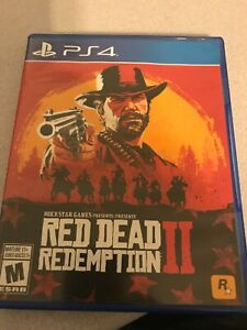 PS4-Playstation-Red-Dead-Redemption-2-game-low-shipping