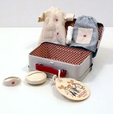 MAILEG MICRO SUITCASE NURSE AND DOCTOR SUITCASE 2 SET CLOTHES VALIGETTA