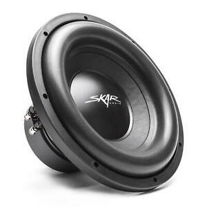 NEW-SKAR-AUDIO-SDR-12-D4-12-034-1200-WATT-MAX-POWER-DUAL-4-OHM-CAR-SUBWOOFER
