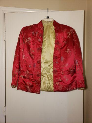 Qipao Long Sleeve Top Brocade - image 1