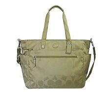 Item 3 Coach Signature Nylon Baby Bag Diaper Multifunction Tote Sage F77577 New