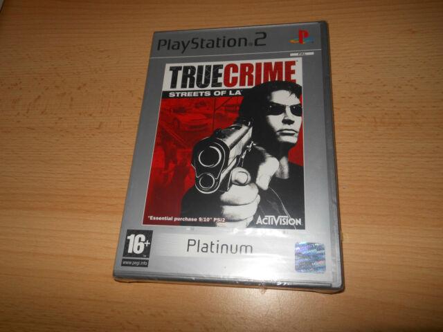 NUOVO E SIGILLATO playstation 2 TRUE CRIME STRADE of LA Ps2 Versione PAL
