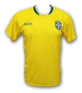 5a3a0373b Image is loading Brasil-Soccer-Team-Men-039-s-Home-Jersey-