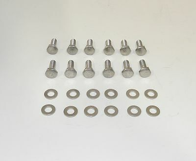 BB Dodge Mopar Hex Head Stainless Steel Bolts for Steel Valve Covers NEW