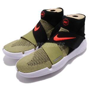 Nike Free RN Motion FK 2018 Run Flyknit Olive Green Men Running Shoe ... 36d0efa0934db