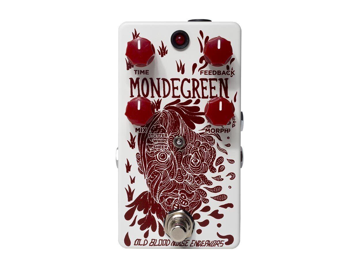 Old Blood Noise Endeavors MondeGrün MondeGrün MondeGrün Delay EFFECTS - NEW - PERFECT CIRCUIT d76dba