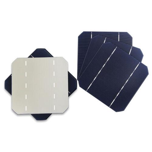 10pcs Cheap Mono Solar Cells Monocrystalline Silicon PV Wafer DIY Photovoltaic
