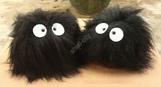 New Ghibli Totoro Fairydust Cosplay Adult Plush Shoes Non-slip Slippers 11""