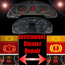 AUDI Speedometer Instrument Cluster LCD Display Screen Pixel Repair Service
