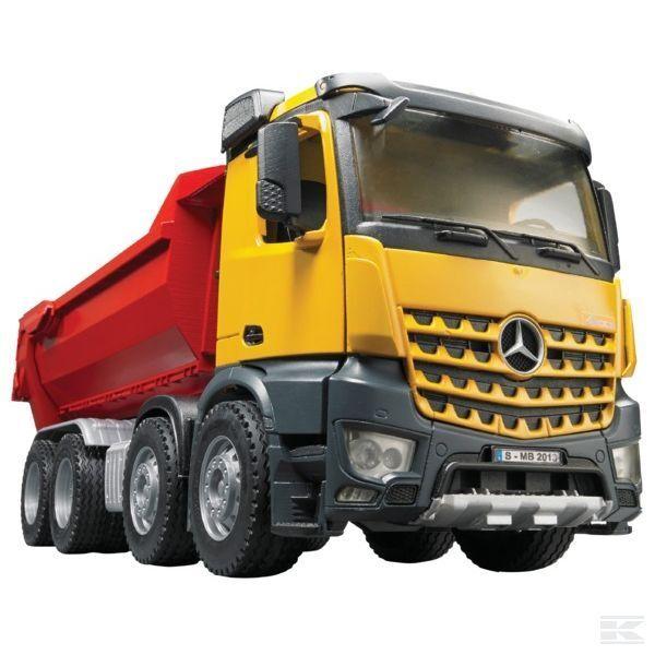 descuento de ventas Bruder Mercedes Mercedes Mercedes Benz Arocs Camión Juguete Modelo Pro serie MB Camión Volquete 1 16 03623  alta calidad y envío rápido