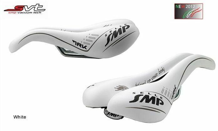 Selle smp Trk Mann Fahrrad Sattel Sitz - Weiß. Made in