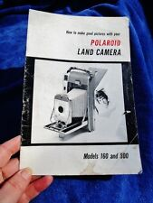 Polaroid Land Camera Models 160 + 800 How to Make Good Pictures Instruction Book
