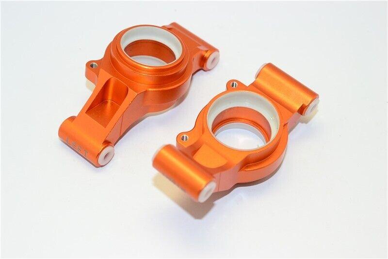 GPM orange Aluminum Rear Stub Axle Carriers for X-Maxx