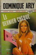 SPECIAL POLICE  1228  D ARLY  LE DERNIER CHEQUE