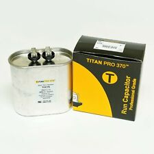 Titanpro Toc70 Hvac Oval Motor Run Capacitor 70 Mfduf 370 Volts
