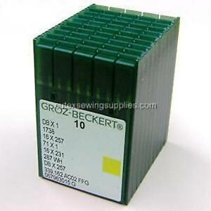 100-Groz-Beckert-16X231-16X257-DBX1-Sewing-Machine-Needles