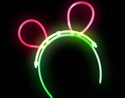 Diadema orejas luminosa luz led fiesta carnaval juvenil disfraces disfraz raton