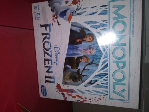 Monopoly Disney Frozen 2 Edition Board Game Ages 8+