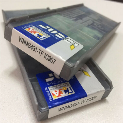 10pcs//pack ISCAR WNMG431-TF IC907 WNMG080404-TF IC907 Carbird Inserts