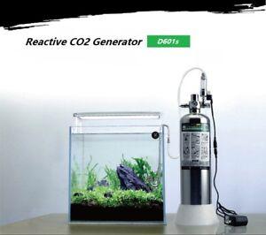 Details about D601s DIY Co2 Generator Stainless Steel Bottle Solenoid  Regulator canister $145