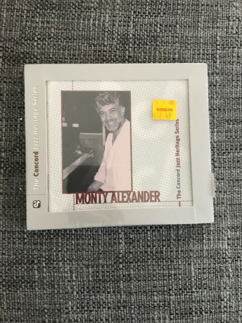 Monty Alexander - Concord Jazz Heritage Series (1998) CD
