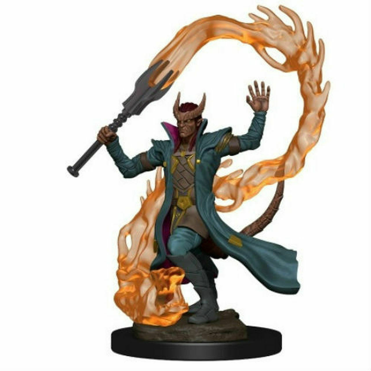 Aasimar Sorcerer tiefling male sorcerer d&d icons of the realms premium minis wizkids  wzk73819