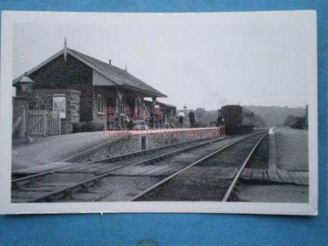 PHOTO  HATHERLEIGH RAILWAY STATION NORTH DEVON AND CORNWALL JUNCTION LIGHT RAILW