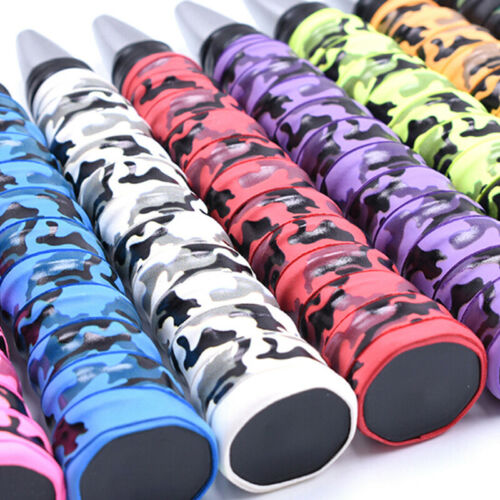 Anti-slip Racket Tennis Badminton Sweat Absorption Handle Grip Tape Overgrip ZH