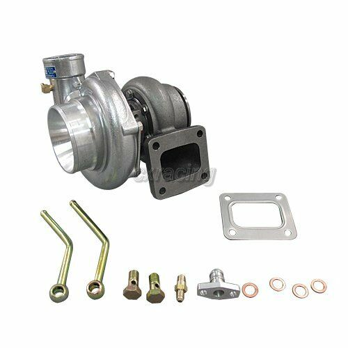 CXRacing T4 GT35 Turbo Charger 0.68 AR Super Fast 500+ HP For Eclipse Mustang