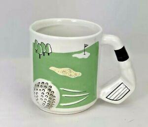 Golfer-3D-Golf-Ball-and-Club-Handle-Golfing-Coffee-Mug-Cup-for-Dad-Or-Husband