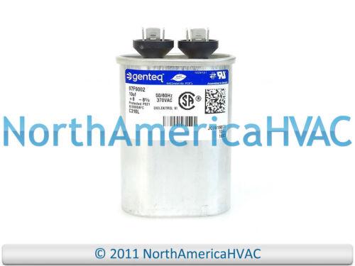 Carrier Bryant Capacitor 10 uf 370 volt HC90AB010