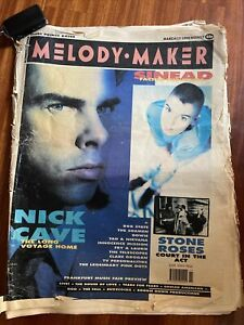 Melody Maker Magazine Nick Cave Cover, March 1990, Nirvana, TVPs.