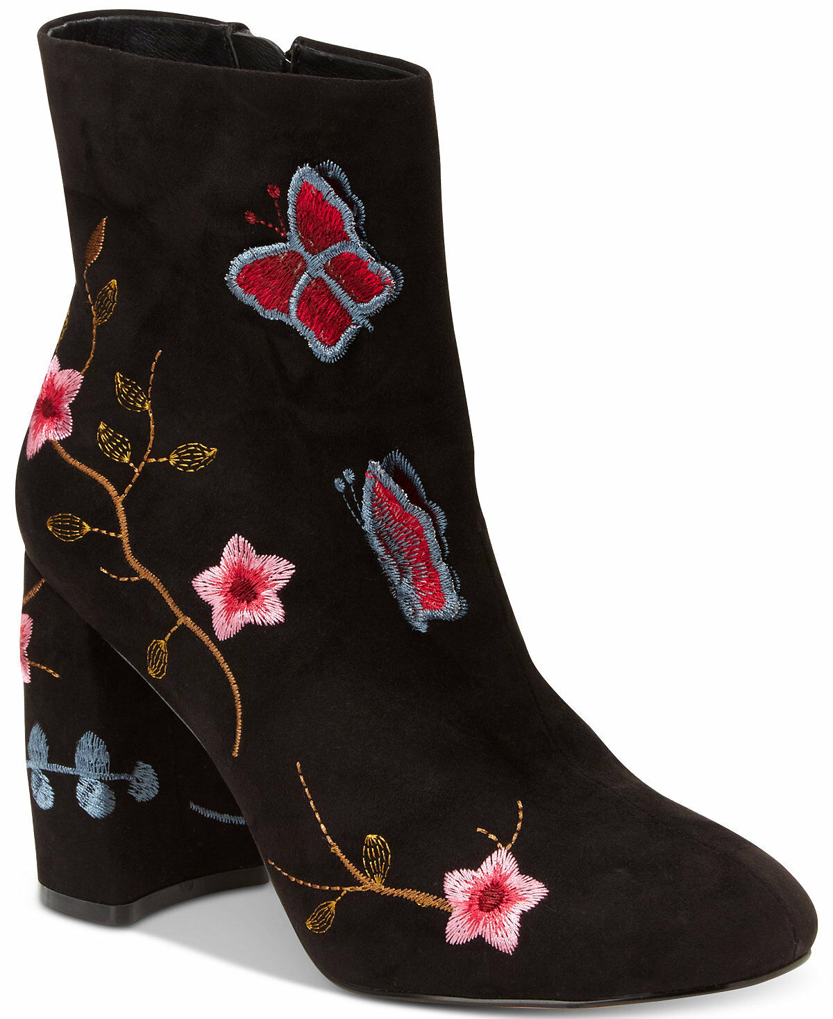 NIB   129 Nanette by Nanette Lepore Lilly Embroidered Booties - Size 8